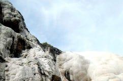 Kredowy wzgórze W Indonezja Zdjęcia Stock