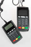 Kredytowa czytnik kart maszyna Fotografia Stock
