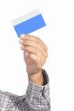 Kredytowa karta Zdjęcia Royalty Free