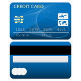 Kredytowa karta Fotografia Stock