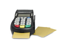 Kredytowa karta Obraz Stock