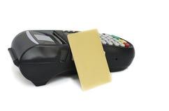 Kredytowa karta Zdjęcie Stock