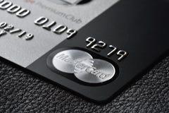 Kredytowa karta MasterCard Obrazy Stock