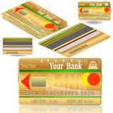 Kredytowe karty. Zdjęcia Stock