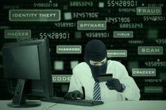 Kredytowej karty kradzież 2 Obrazy Stock