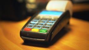 Kredytowej karty terminal zbiory