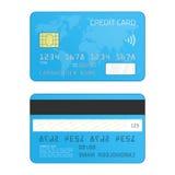 Kredytowej karty wektor Zdjęcia Royalty Free
