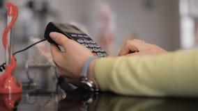 Kredytowej karty zapłata, zakup, bubel usługa i produkty, & zbiory wideo