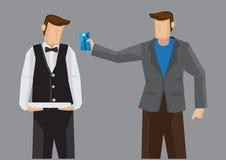 Kredytowej karty zapłaty wektoru ilustracja Obraz Stock