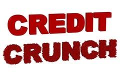 kredytowy chrupnięcie royalty ilustracja