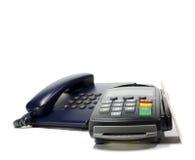 Kredytowy czytnik kart Obraz Stock