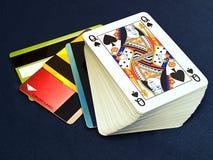 kredytowy hazard Zdjęcie Stock