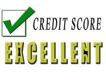 kredytowy znakomity Obraz Stock