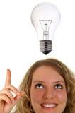Kreeg een idee Stock Fotografie
