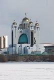 Kreek-katholieke kathedraal in Kyiv Stock Foto