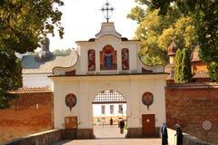 Krehivskyy-Kloster nahe Lvov, Ukraine Lizenzfreie Stockfotos