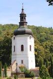 Krehivskyy-Kloster nahe Lvov, Ukraine Stockbilder