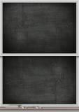 Kreide-Brett-Spalte Stockfoto