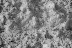 Kreide im Meer glatt Lizenzfreies Stockbild