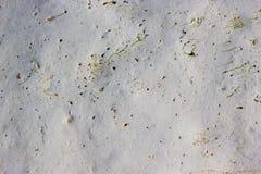 Kreide im Meer glatt Stockfoto