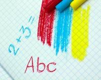 Kreiden und formules stockbild