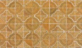 Kreis deckt Muster mit Ziegeln Lizenzfreies Stockfoto