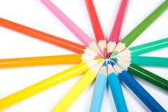 Kreis der Bleistifte Lizenzfreie Stockbilder