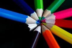 Kreis der Farbe Lizenzfreies Stockfoto
