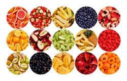Kreis der Früchte Stockbild