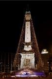 Kreis der Leuchten Indianapolis stockfotos