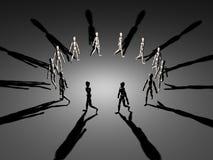 Kreis der Leute Stockbilder