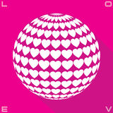 Kreis der Liebe Lizenzfreie Stockbilder