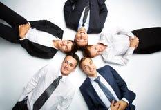 Kreis der Partner Stockfotografie