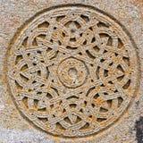 Kreis des dekorativen Steins Lizenzfreie Stockfotografie