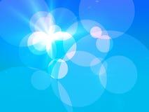 Kreis-Hintergrund-Zusammensetzung Lizenzfreies Stockfoto