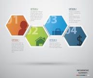 Kreis infographic Stockfoto