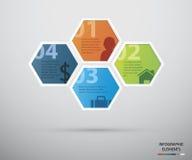 Kreis infographic Lizenzfreies Stockbild