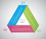 Kreis infographic Lizenzfreies Stockfoto