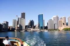 Kreis-Quay Sydney Australia stockfotos