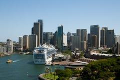Kreis-Quay - Sydney - Australien stockbilder