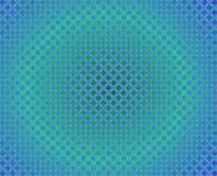 Kreis-rundes Steigung-Blau A der OPkunst-tausend Stockfotos
