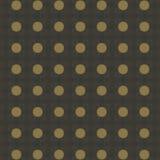 Kreis- und dekoratives Muster Stockfotografie