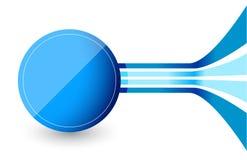 Kreis und Linien Lizenzfreies Stockfoto