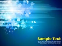 Kreis-Vektor-Hintergrund-Blau Lizenzfreie Stockbilder