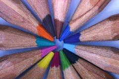 Kreis von Farben Stockbild