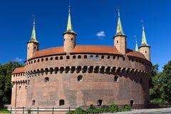 Kreis-Vorwerk in Krakau in Polen Stockfotos