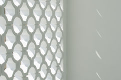 Kreisblock-Wandfassade lizenzfreie stockfotos