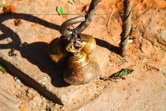 Kreischende Glocken des Tibetaners Lizenzfreies Stockbild