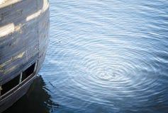 Kreise auf dem Wasser Stockfoto