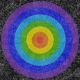 Kreise auf einem Mohär Stockbild